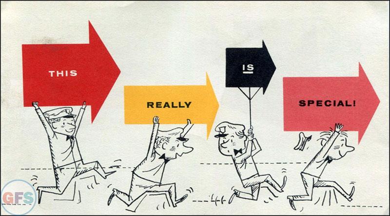 Vintage Mobiloil Special ad brochure