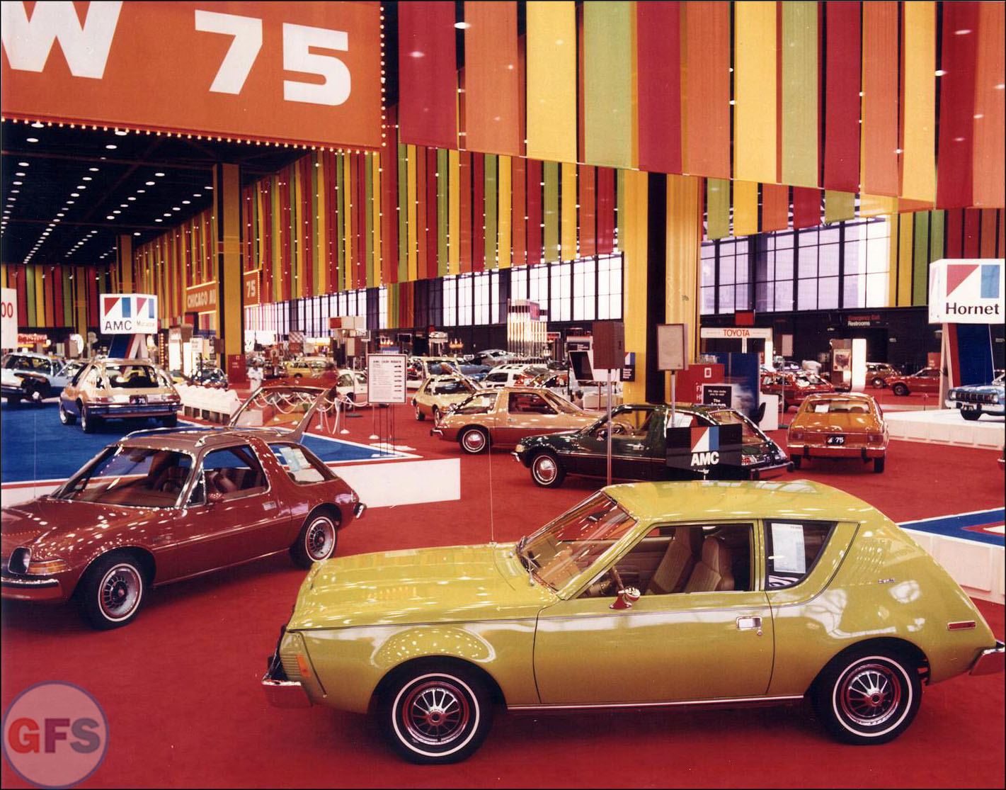 AMC at the 1975 Chicago Auto Show