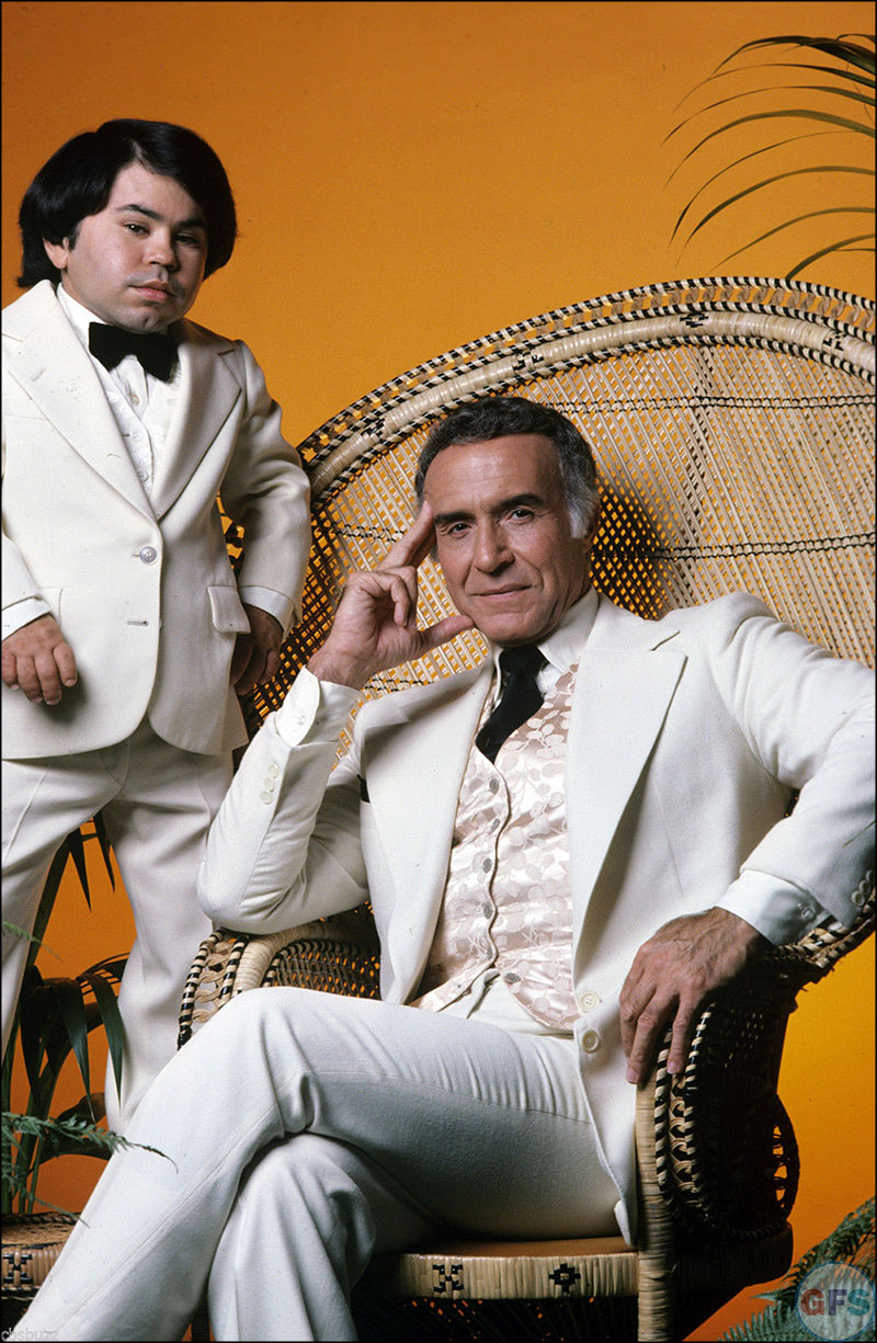 Ricardo Montalbán and Hervé Villechaize from Fantasy Island