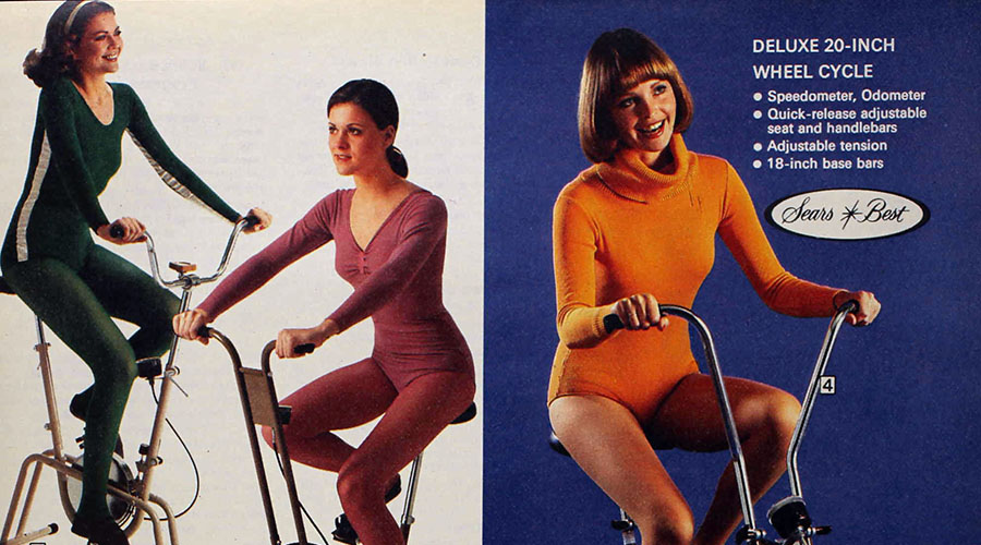 Sears Catalog Goodness #3: Late '70s Exercise Equipment