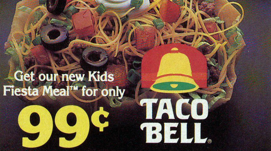 Logo Evolution: Taco Bell