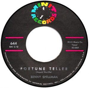 "Benny Spellman, ""Fortune Teller"""