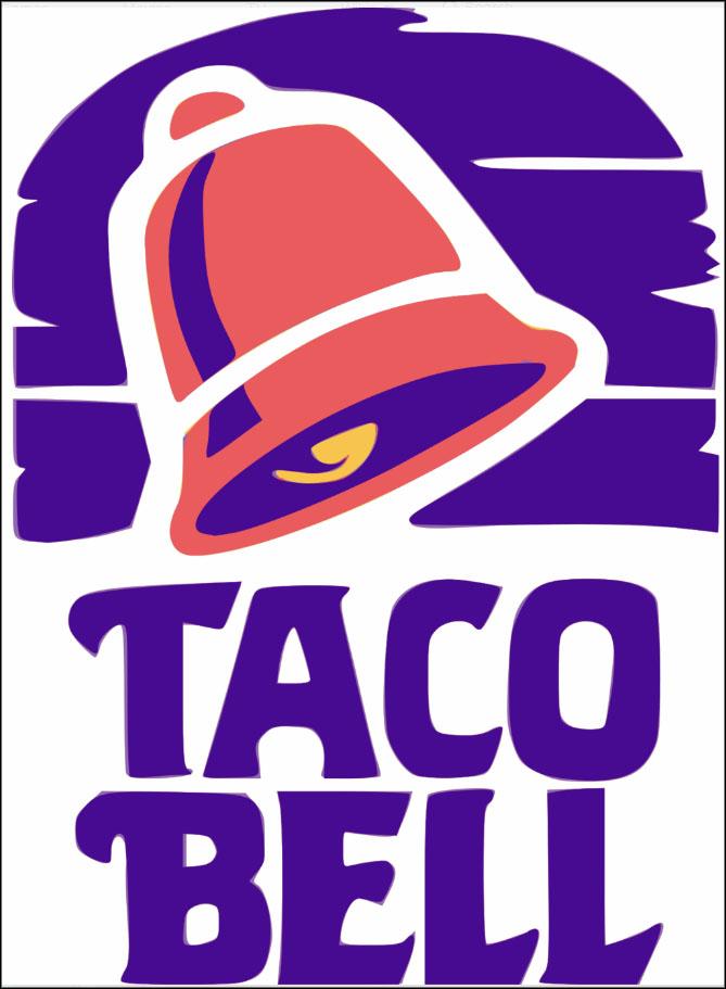Taco Bell logo (1992-94)