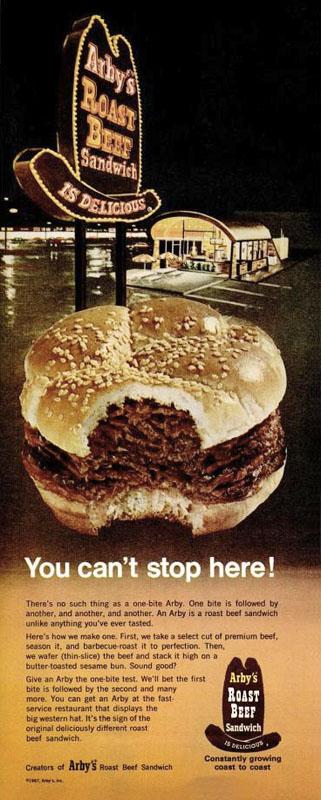 1967 Arby's ad