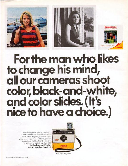 1967 Kodak Instamatic ad