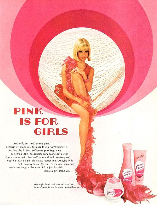 1967 Lustre Creme ad