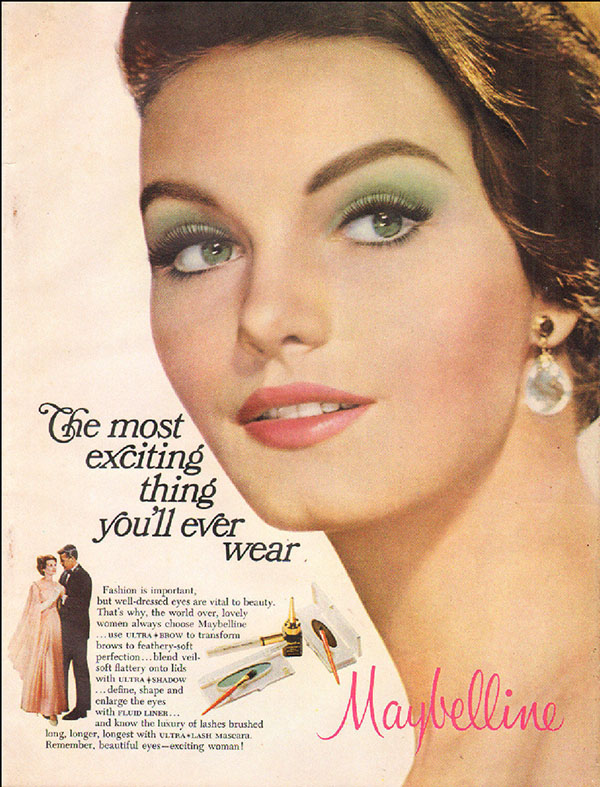 1967 Maybelline ad