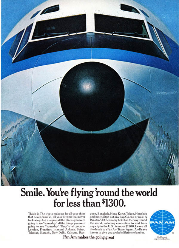 1967 Pan Am ad