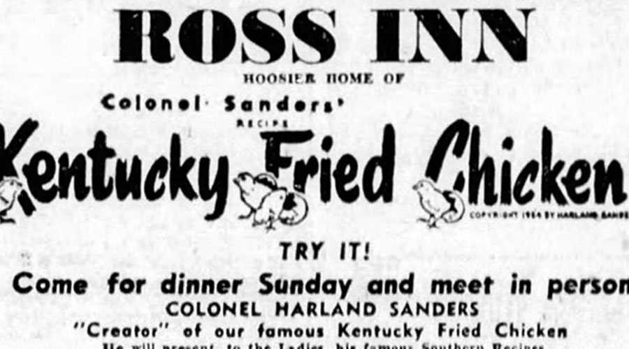 Retrotisements: The Early Days of Kentucky Fried Chicken