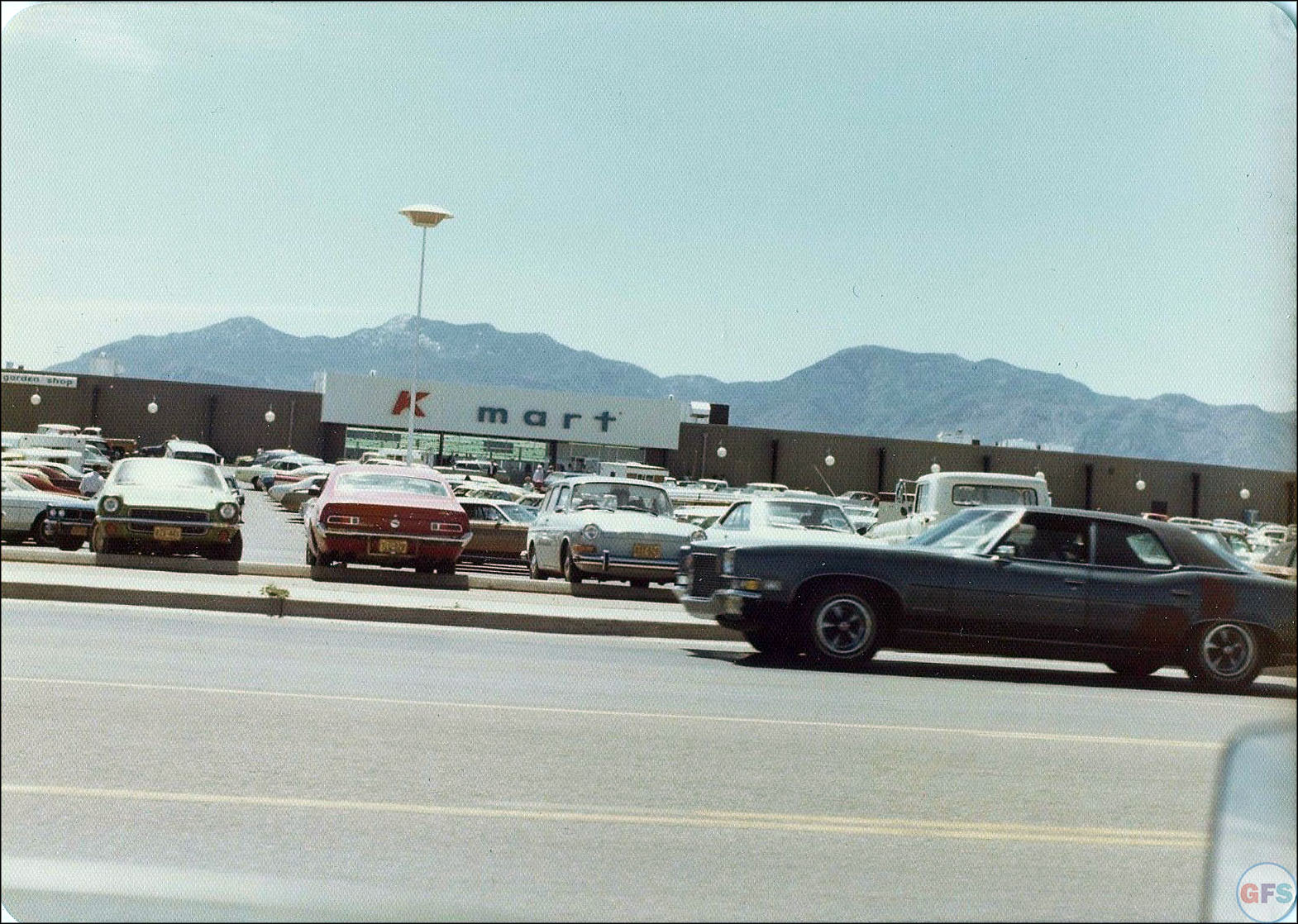 Found photograph of a Kmart in the 1970s
