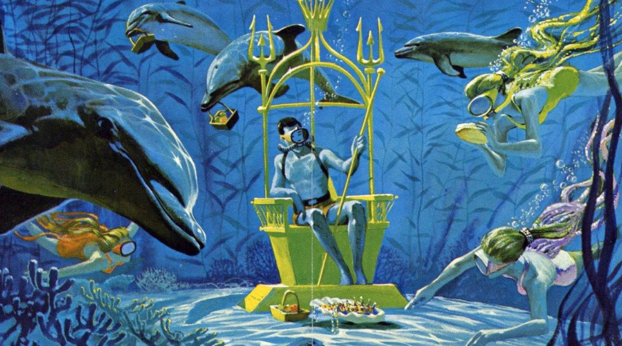 Brochure Beauties #7: Sea World San Diego, 1964