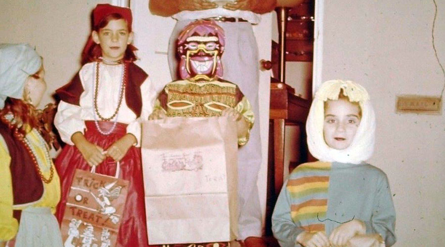 Another Gallery of Vintage Halloween Costume Slides