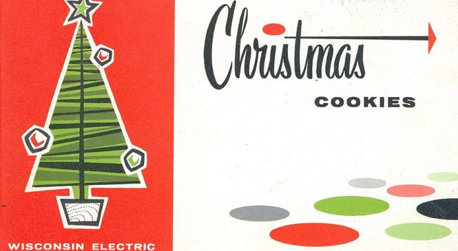 Get Toasty With These Wisconsin Electric Power Company Christmas Cooky Books