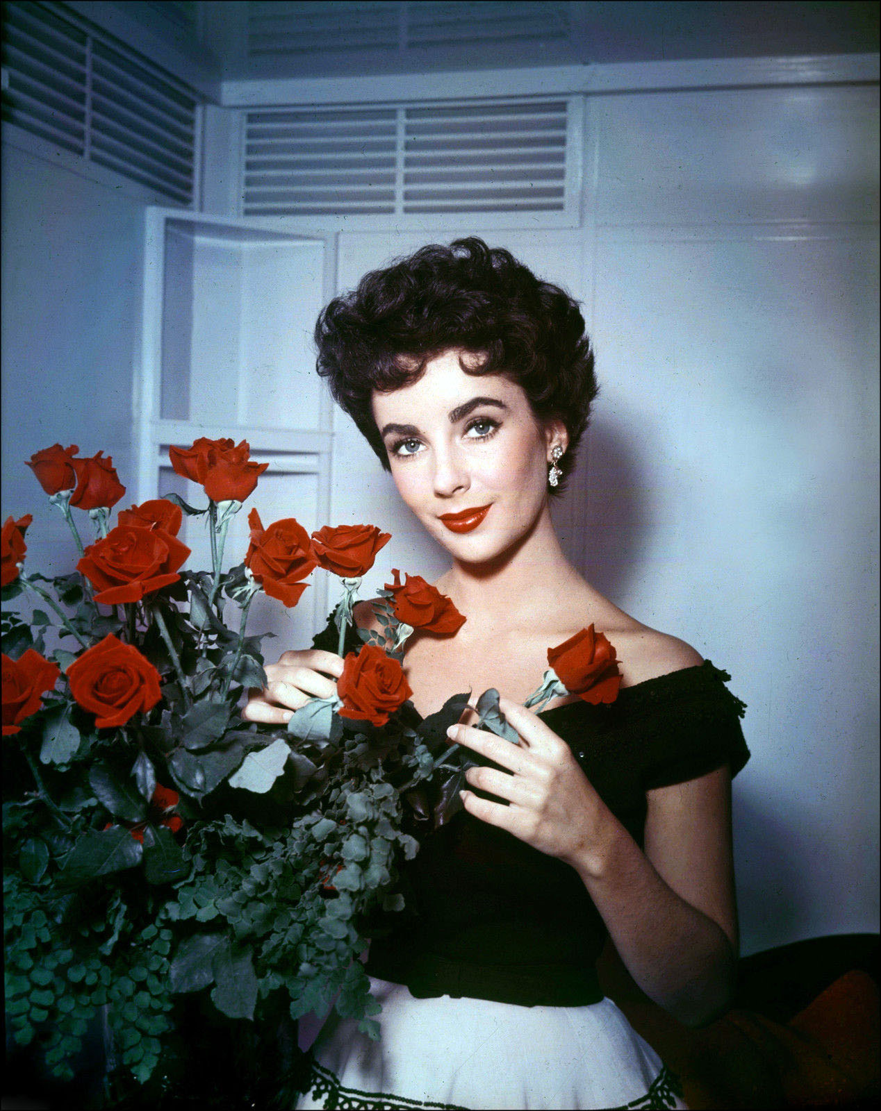 Hollywood Beauty #7: Elizabeth Taylor