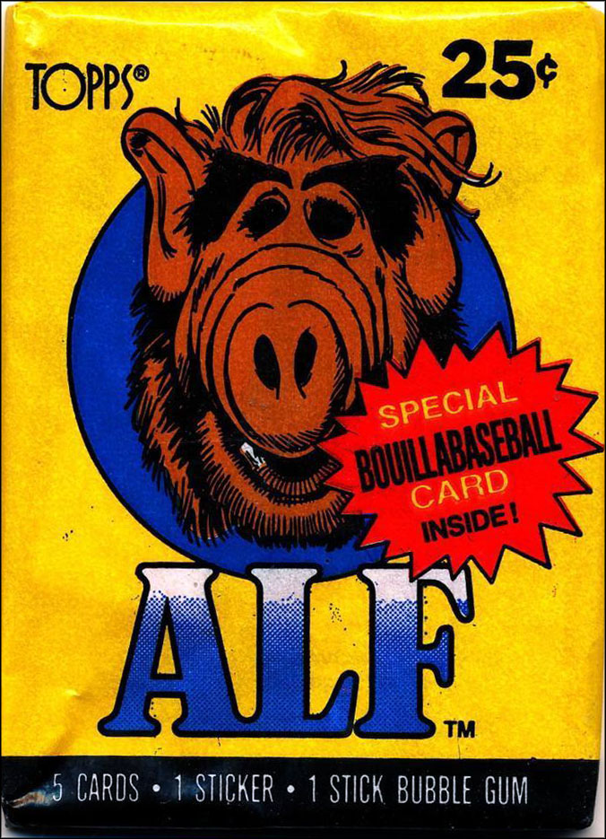 Vintage TV Show Trading Card Packs of the '70s, '80s, and '90s: ALF