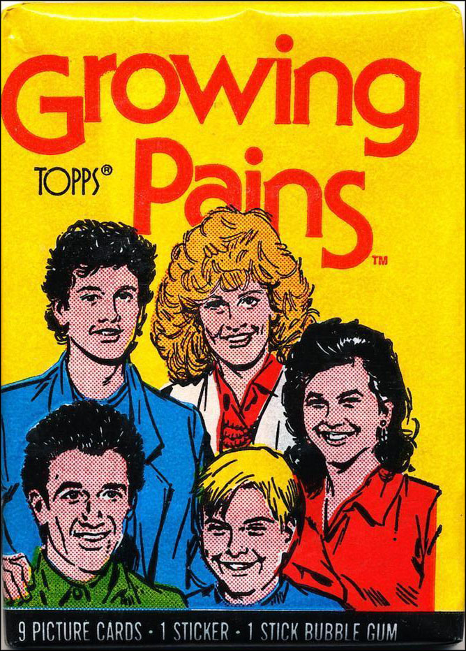 Vintage TV Show Trading Card Packs of the '70s, '80s, and '90s: Growing Pains