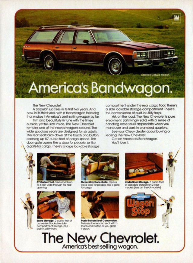 1979 Caprice Classic wagon ad