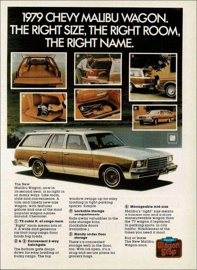 1979 Chevrolet Malibu ad