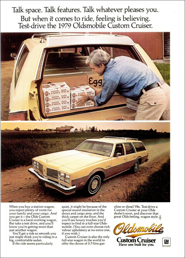 1979 Oldsmobile Custom Cruiser ad