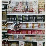 Store displays from a Hy Lo drug store, 1970 Southern California