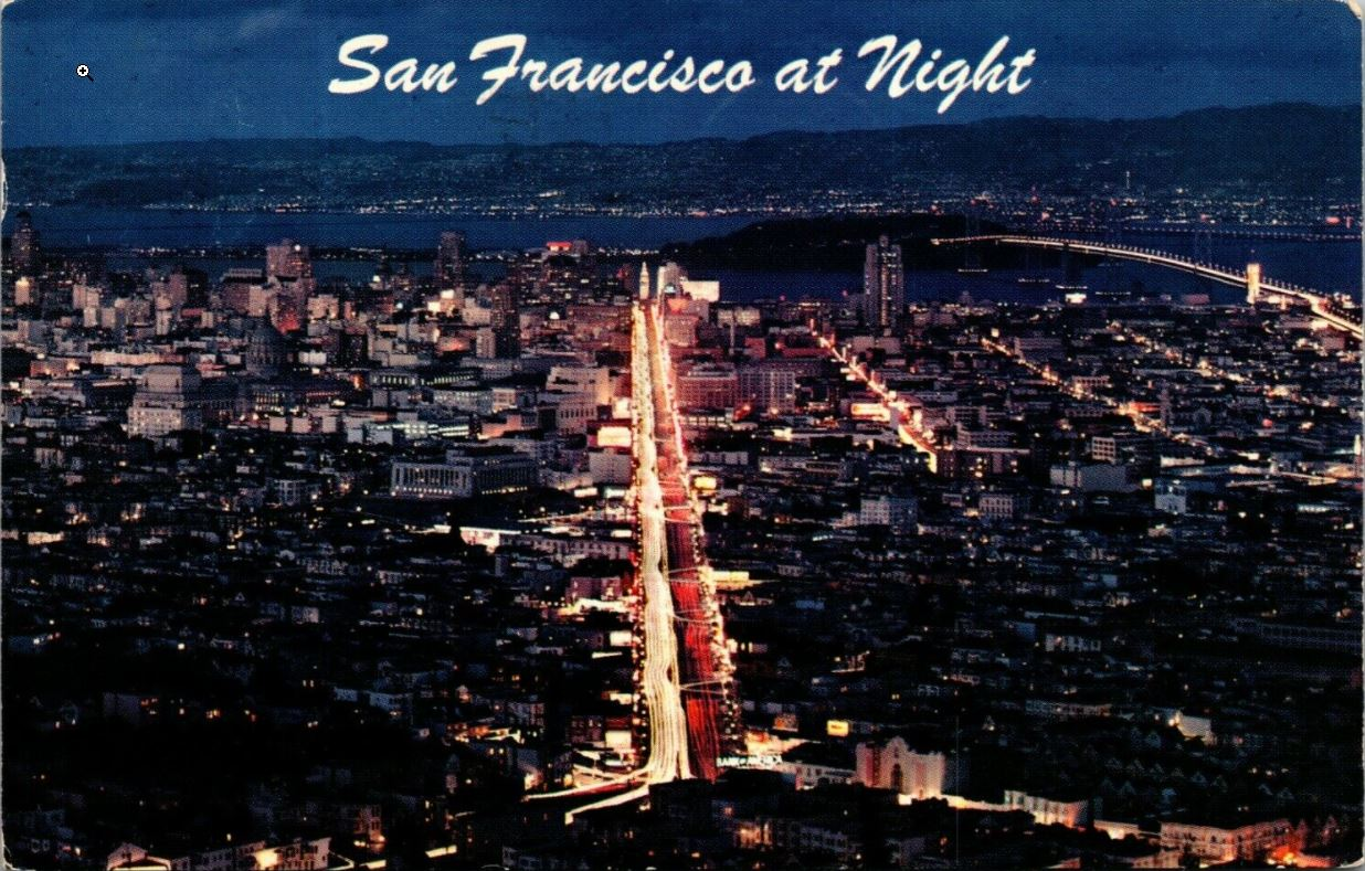 Postcards from the Past #3: San Francisco at Night