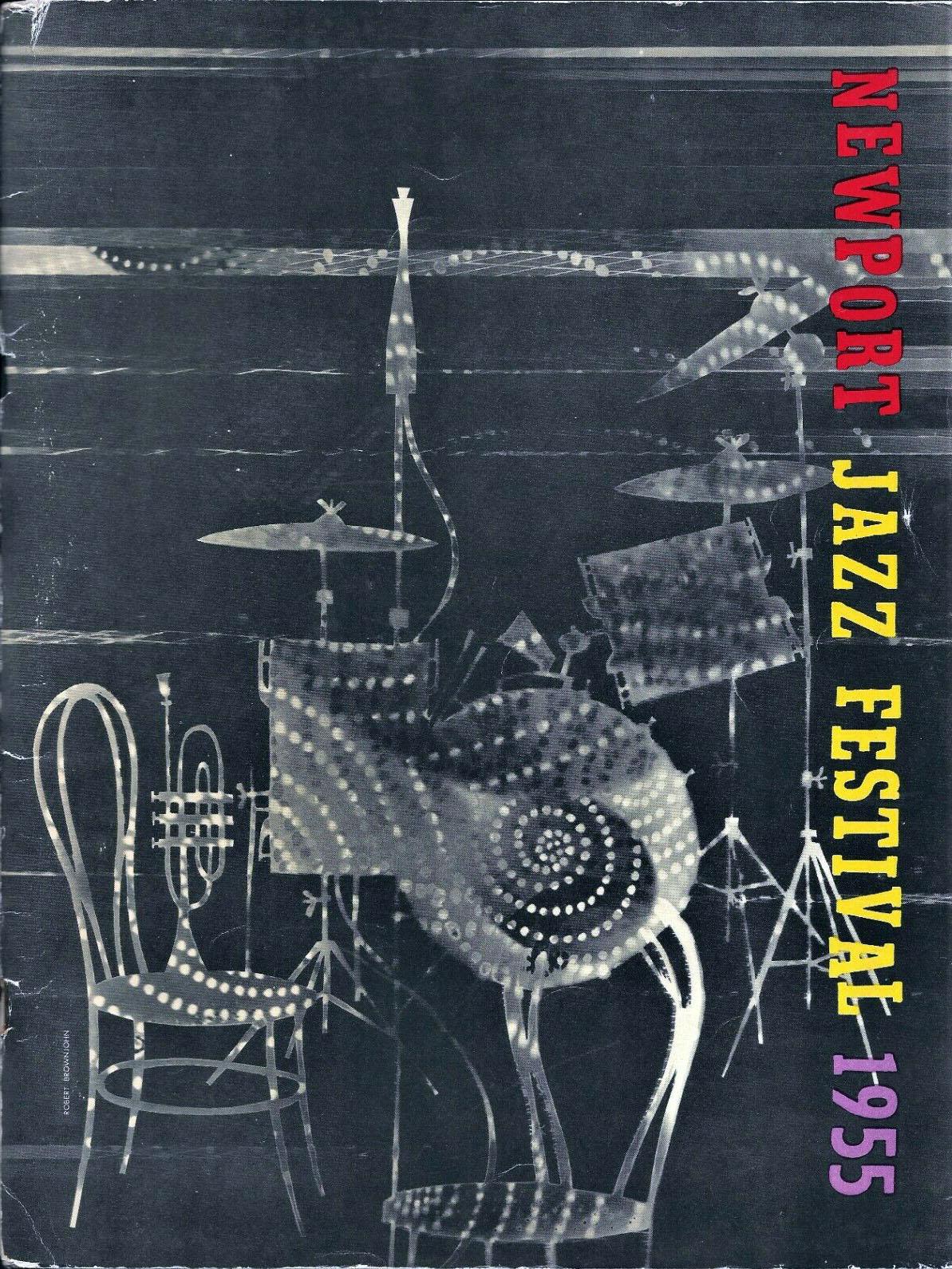 Newport Jazz Festival 1955 Program